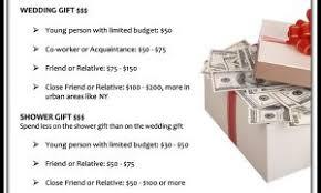 wedding gift dollar amount 2017 weddings