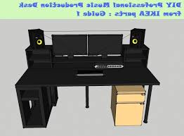 Diy Music Workstation Desk Guide Diy Music Production Desk From Ikea Parts Build 1 Youtube