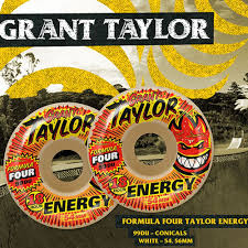 formula 4 spitfire spitfire formula four taylor energy 54mm conical skateboard wheels