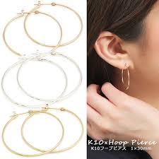 prima kyoei rakuten global market bullion k10 gold simple hoop