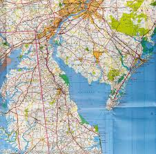 Atlantic City Map Map Of Mid Atlantic Usa Michelin U2013 Mapscompany