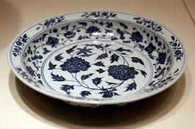 file wla brooklynmuseum plate 1368 1644 ming porcelain jpg