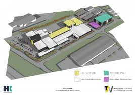 Studio Plan Scottish Film Studio Government Backed Wardpark Movie Studio Plan
