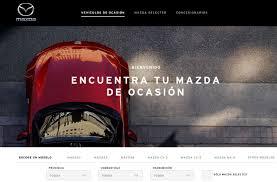 mazda pagina oficial noticias mazda lanza su nueva web de vehículos de ocasión