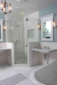 Shower With Bathtub Marble Bathroom Sinks Bathroom Eclectic With Bathtub Classic