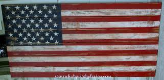 Reclaimed Wood Flag Somewhat Quirky Making An American Flag From Pallet Wood