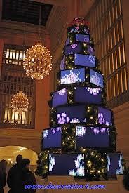 crazy christmas tree lights 8 high tech christmas trees unusual christmas trees christmas