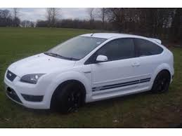 used ford focus st3 used white ford focus 2007 petrol 2 5 st 3 3dr 07 hatchback