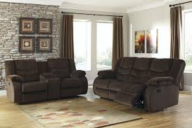 Living Room Furniture Reviews by Buy Ashley Furniture Garek Cocoa Reclining Living Room Set