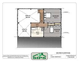 prefab home kits energy smart panels esips homestead house plan