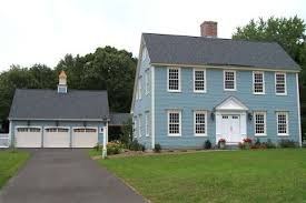 Classic Colonial Homes The Laurel Hedge Sweet Saltboxes