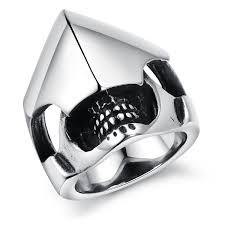 cool rings for men cool skull ring stainless titanium steel large rings