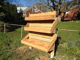 vertical wooden box planter how to make a wooden box planter