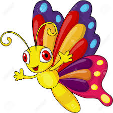 funny butterfly cartoon royalty free cliparts vectors and stock