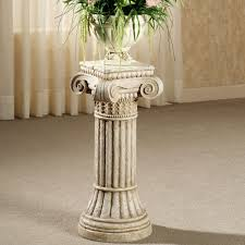 Plant Pedestal Wonderful Column Plant Stand 57 Roman Column Plant Stand