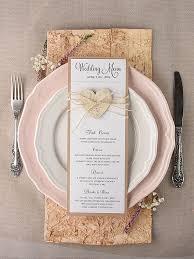 diy wedding menu cards best 25 rustic wedding menu ideas on wedding dinner