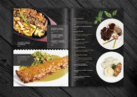 design menu for restaurant on behance menu design pinterest