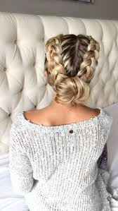put your hair in a bun with braids 12 best braiding video tutorials long length hair braid
