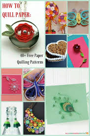 Quilling Designs How To Quill Paper 40 Free Paper Quilling Patterns