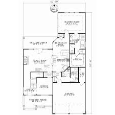 house plans by lot size patio lot size traditional style house plans 2457 square foot home