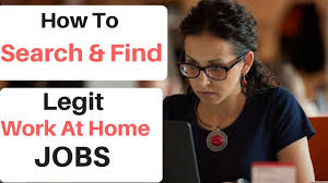 how to find work at home jobs online location based job search
