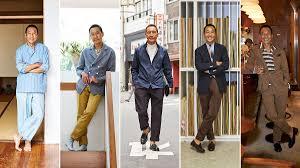 mr yasuto kamoshita this week i u0027m wearing the journal issue