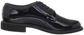 amazon com bates men u0027s high gloss uniform work shoe oxfords