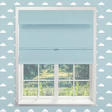 Simply Shabby Chic Roman Shades Chicology Baby Blue Cordless Magnetic Room Darkening Thermal Roman