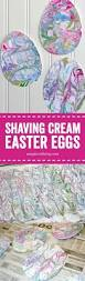 shaving cream painted easter eggs such a fun and easy easter