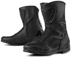 women s black motorcycle boots icon overlord women u0027s boots size 10 only revzilla