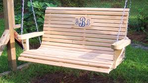 Patio Swing Cushions Bench Garden Swing Bench Kilig 2 Person Patio Swing With Canopy