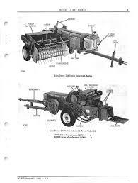 john deere 224 series hay baler parts catalog farm manuals fast