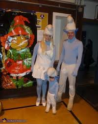 Smurf Halloween Costume Smurfs Family Costume Costumes Halloween Costumes Costume Works