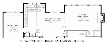 Kitchen Floor Plan by Reserve At Medina The Monson Home Design