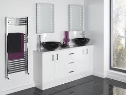 bathroom contemporary sleek bathroom ideas with white glossy