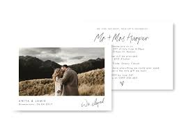 elopement announcements elopement announcements for the of stationery