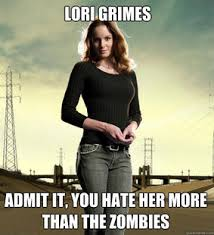 Lori Walking Dead Meme - lori grimes memes walking dead forums