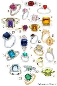 coloured wedding rings images Engagement wedding rings jpg