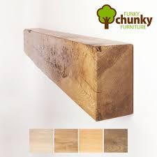 4x8 rustic fireplace mantel oak beam by funky chunky furniture ebay