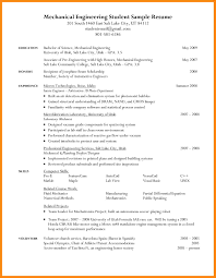 Student Resume Format Doc 3 Resume Formats For Engineering Students Manager Resume