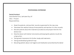 dental assistant job description senior dental assistant job