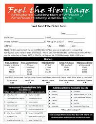 dinner order form template 9 food order form templates free sles exles formats