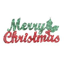 merry christmas sign gemmy pre lit merry christmas sign with constant white incandescent