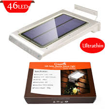 Solar Security Motion Sensor Light by Aliexpress Com Buy 350 Lumens 46 Pcs Led Solar Power Motion