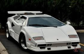 lamborghini countach kit car countach 25 tha anniversary replica kit car v8
