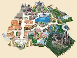 map usj 23 attractions universal studios japan usj