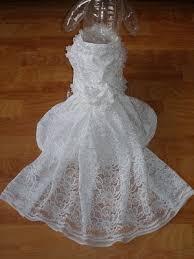 dog wedding dress custom dog wedding dress or groom bridesmaid