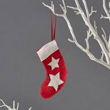 mini stocking christmas decoration children u0027s craft kits from