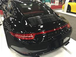 porsche 911 carrera gts black the black exhaust tips on this carrera 4 gts really set off the