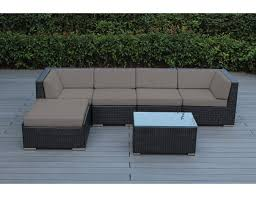 Wicker Patio Furniture Cushions - amazon com ohana 6 piece outdoor wicker patio furniture